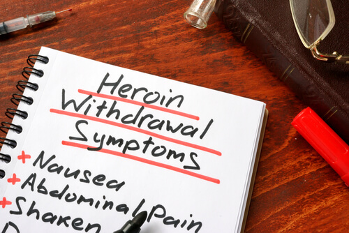 Signs and symptoms of heroin use and withdrawal
